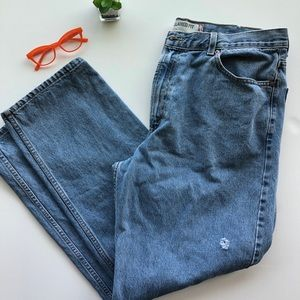 Levi's 550 relaxed fit men's jeans 40x32 med wash